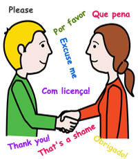 Courtesy in Portuguese